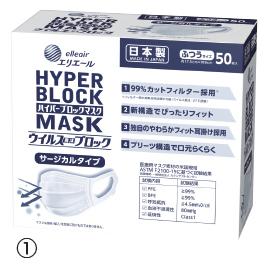 【大王製紙】ハイパーブロックマスク