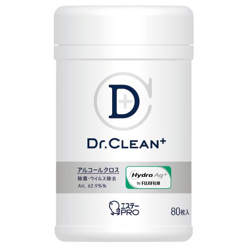 【エステー】 Dr.CLEAN+ 除菌・ウイルス除去アルコールクロス