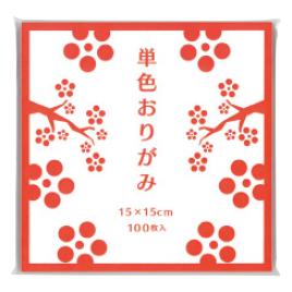 【ゴークラ】単色おりがみ(100枚)