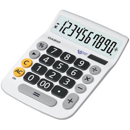 【カシオ計算機】ユニバーサルデザイン電卓DU-10A