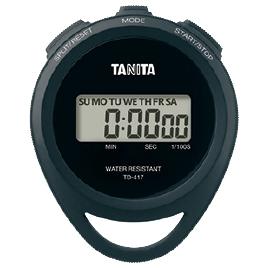 【タニタ】 ストップウォッチTD-417