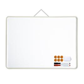 【デビカ】カラーホワイトボード ホワイト Lサイズ 5枚組