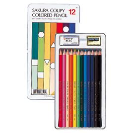 【サクラクレパス】クーピー色鉛筆